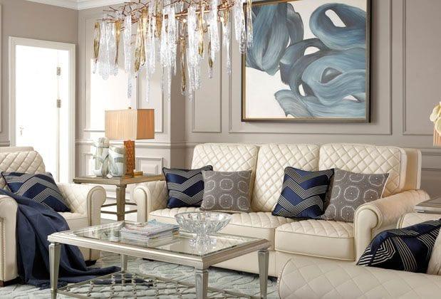 Кожаные диваны – шик и комфорт в вашем интерьере