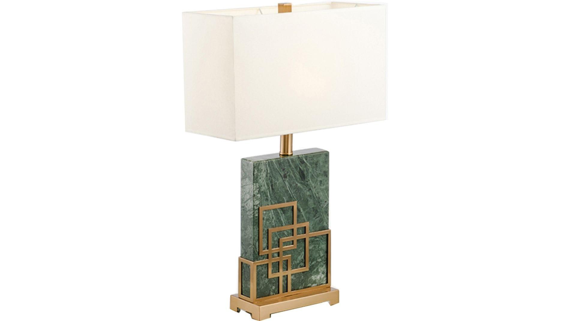 Настольная лампа Green Marble