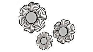 Комплект из трех зеркал Bouquet