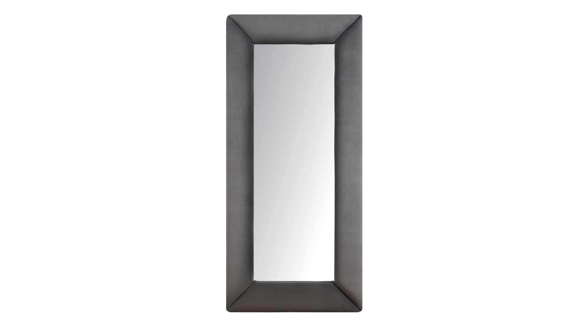 Зеркало напольное Серое
