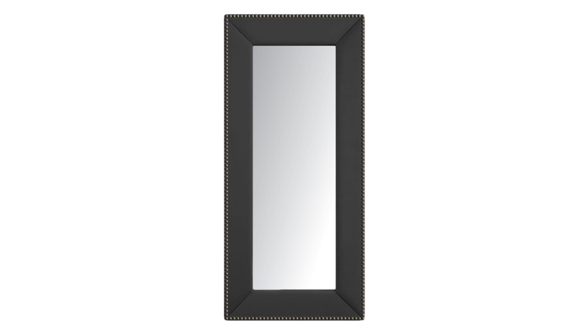 Зеркало напольное с гвоздиками Серое Р