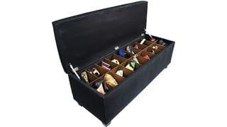 Банкетка-обувница Linon L Черный Р