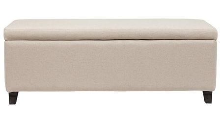 Оттоманка Dean Upholstered Storage Ottoman Белый Лен Р