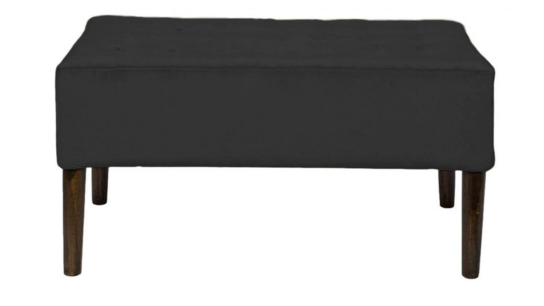 Банкетка Aquiver dark Серый Велюр Р