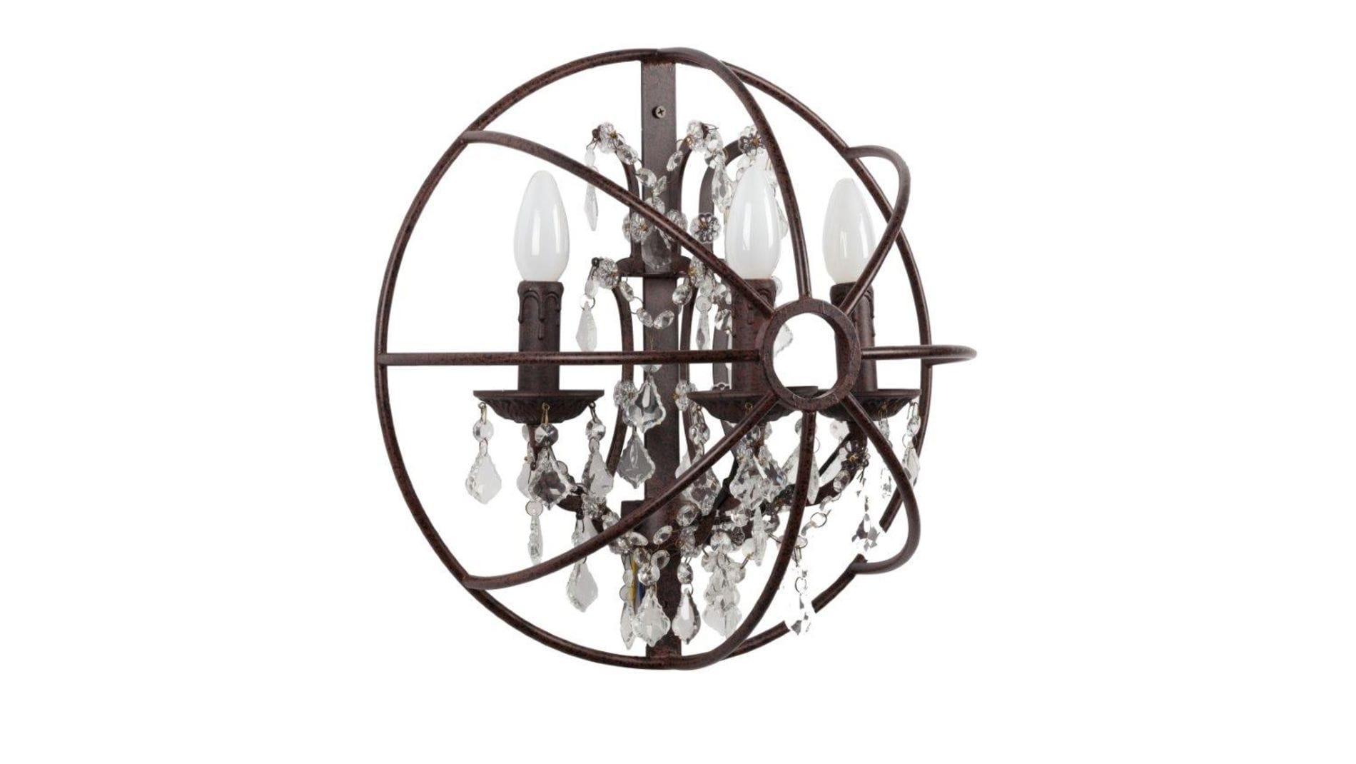Настенный светильник Foucault's Orb Crystal
