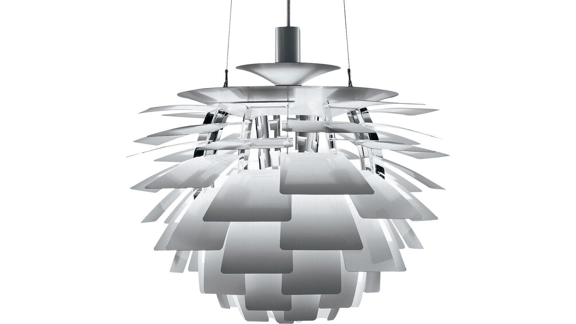 Подвесной светильник Artichoke Хром Большой
