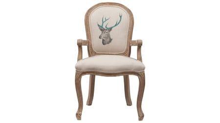 Стул Deer с рисунком