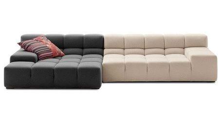 Диван Tufty-Time Sofa Серо-кремовая Шерсть Р