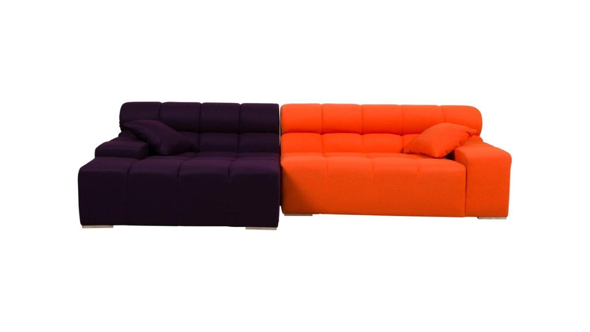 Диван Tufty-Time Sofa Orange-Violet