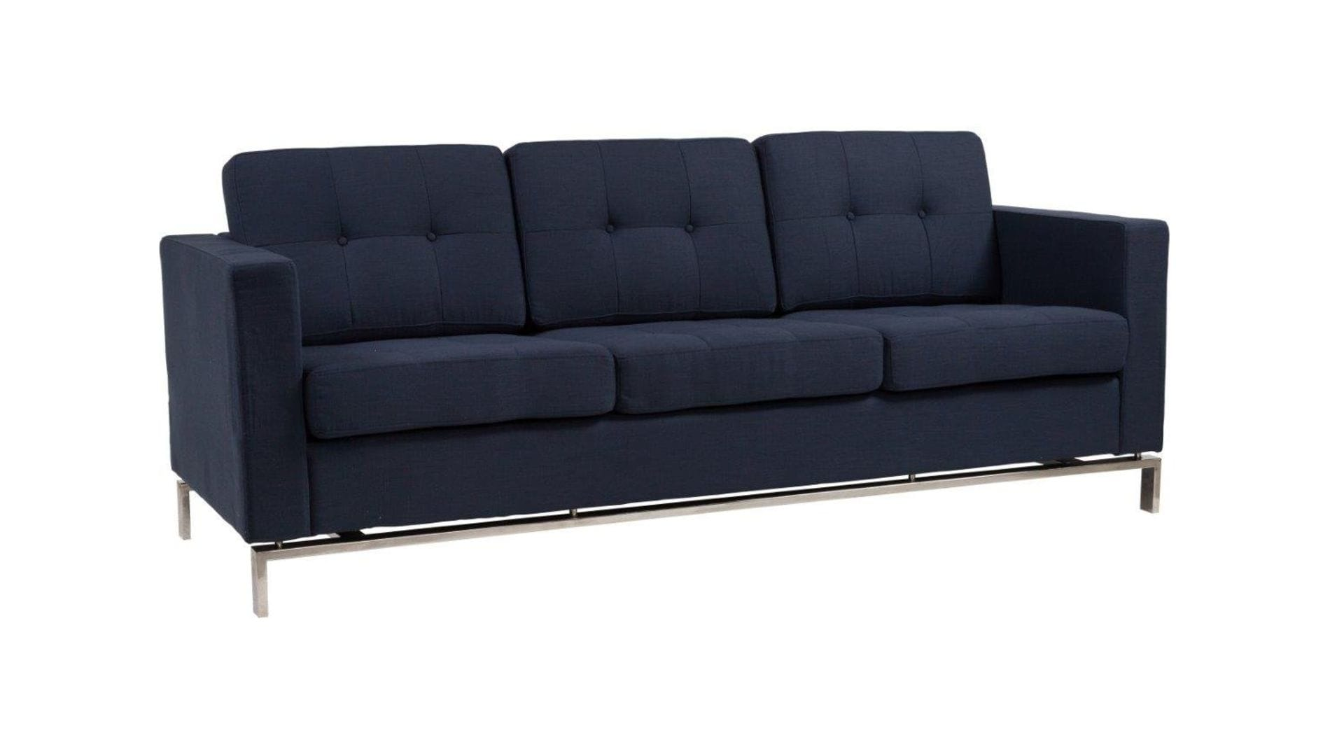 Диван Foster Sofa Dark Blue Р