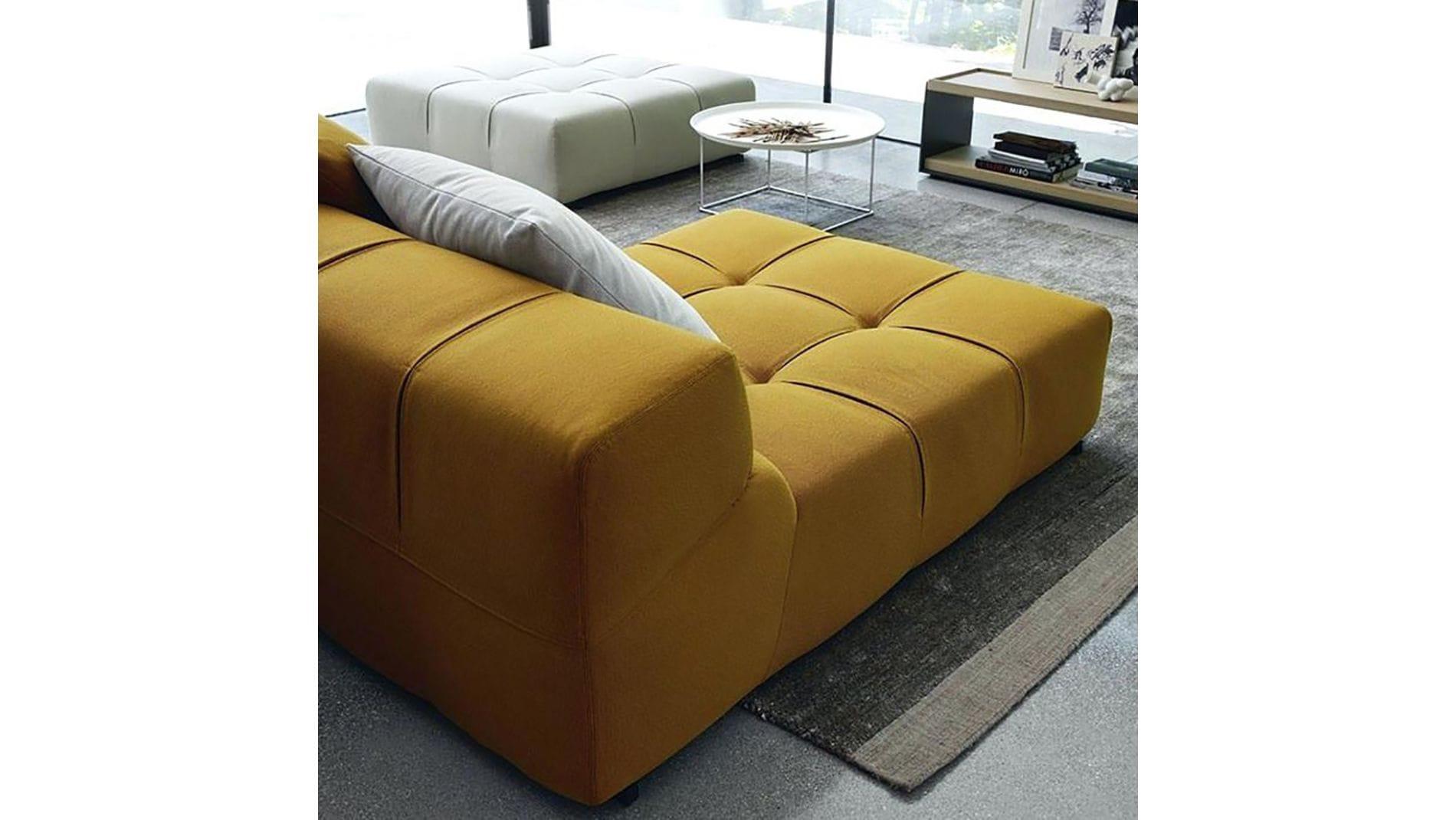 Диван Tufty-Time Sofa Серо-оранжевый Шерсть Р