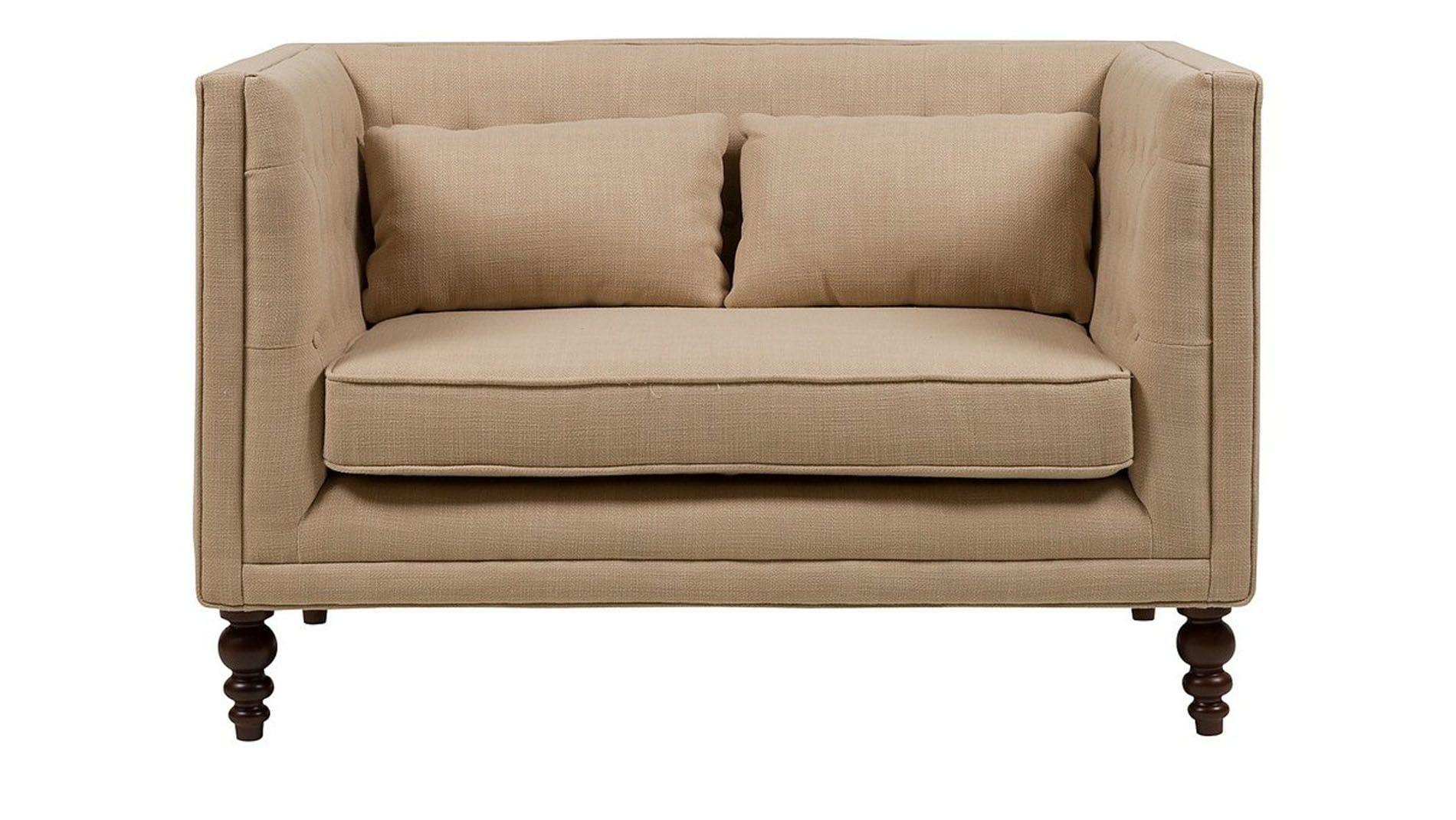 купить диван сhester Sofa бежевый лен цвет бежевый в москве