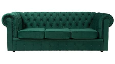 Диван Честерфилд (Chesterfield) большой Зелёный МР