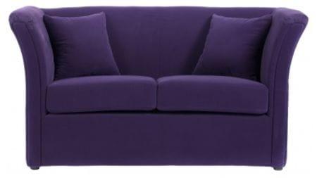 Диван Hollis Фиолетовый Велюр