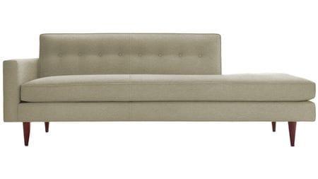 Диван Bantam Studio Sofa Светло-Серый Микровелюр Р