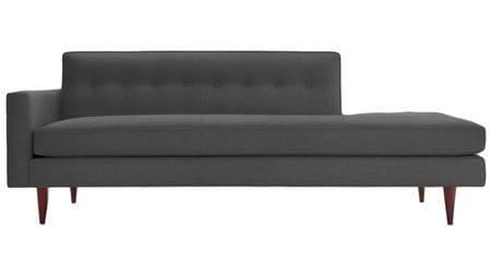 Диван Bantam Studio Sofa Тёмно-серый Микровелюр Р