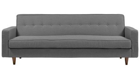 Диван Bantam Sofa Большой Лён Серый Р