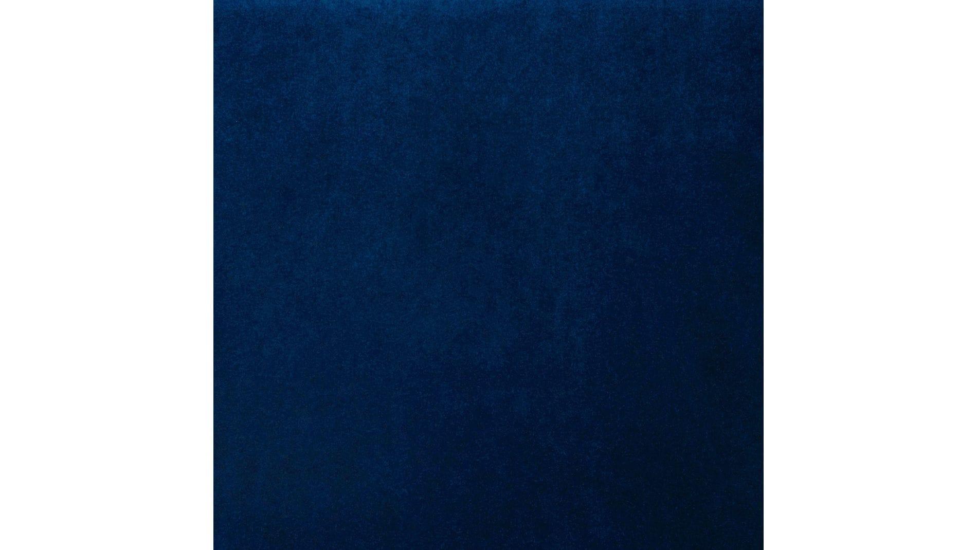 Диван La Rosa трехместный Синий Велюр Р
