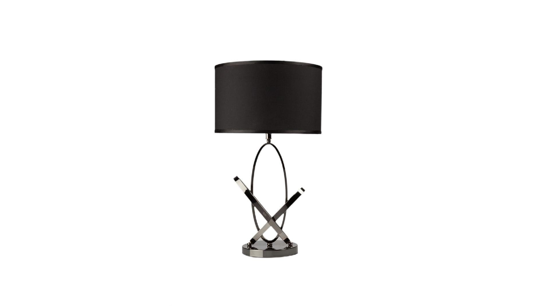 Настольная лампа Angelo Черная