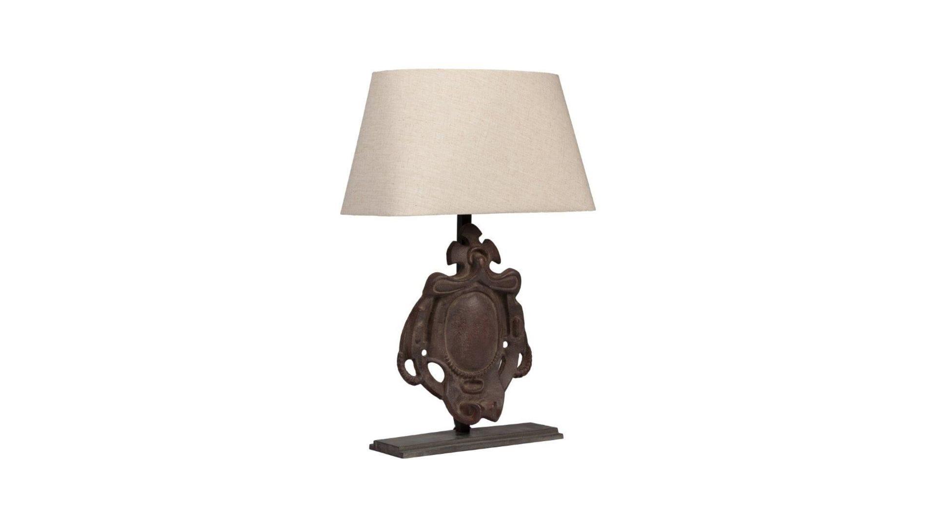 Настольная лампа Bruges Iron Shield Artifact