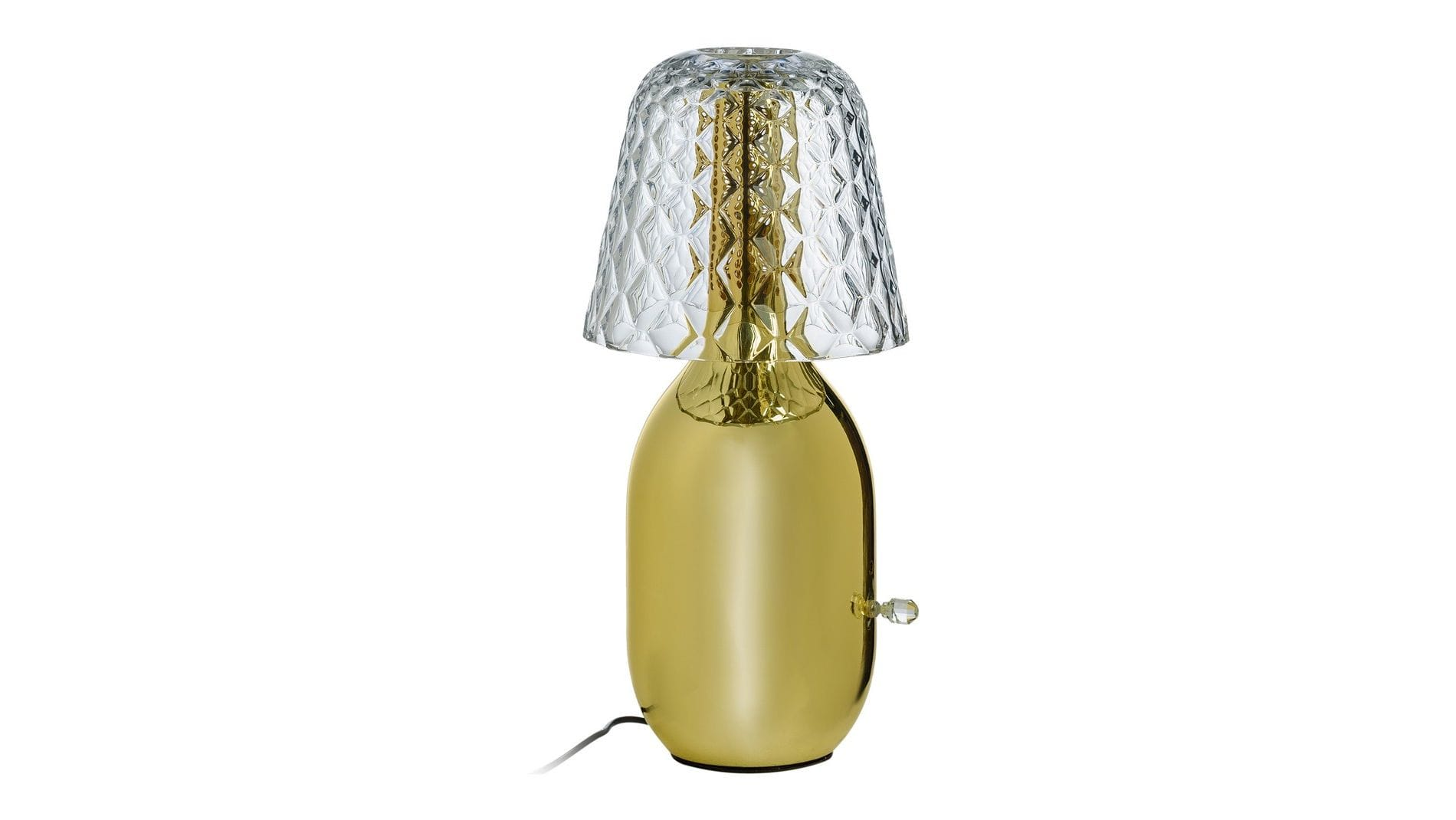 Настольная лампа Kanye Золотая