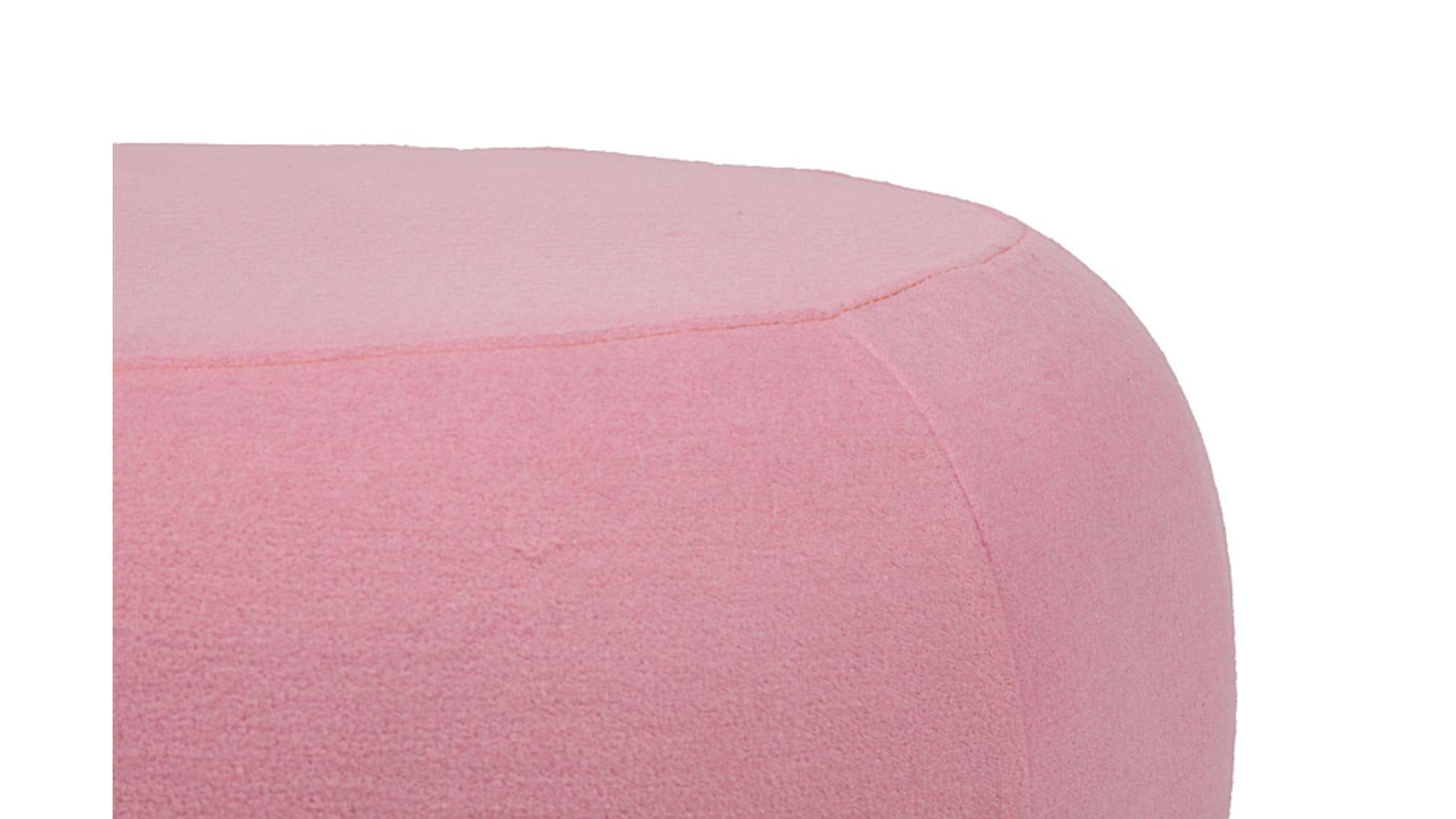 Пуф Pix Светло-розовая Шерсть