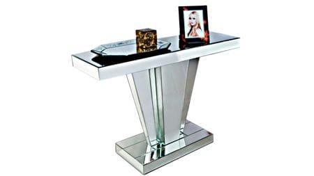 Зеркальный консольный столик Elly