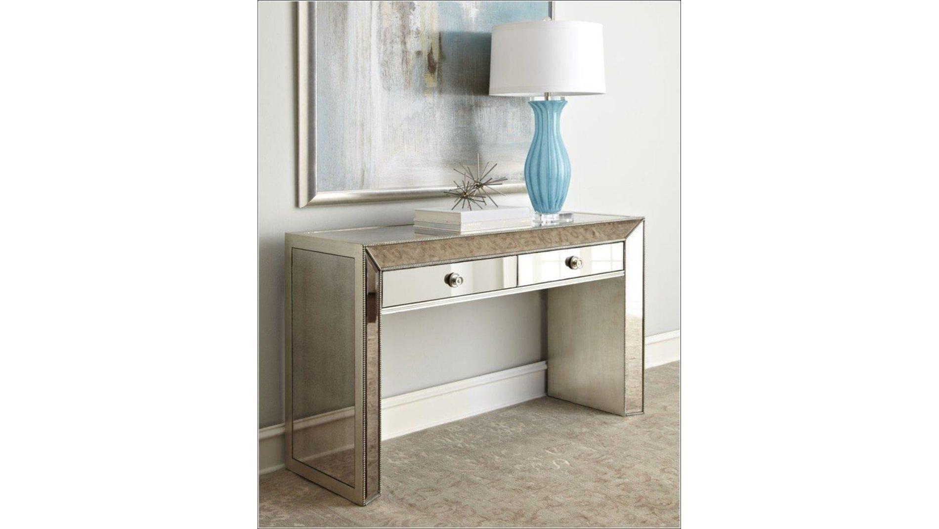 Зеркальный туалетный столик Puente