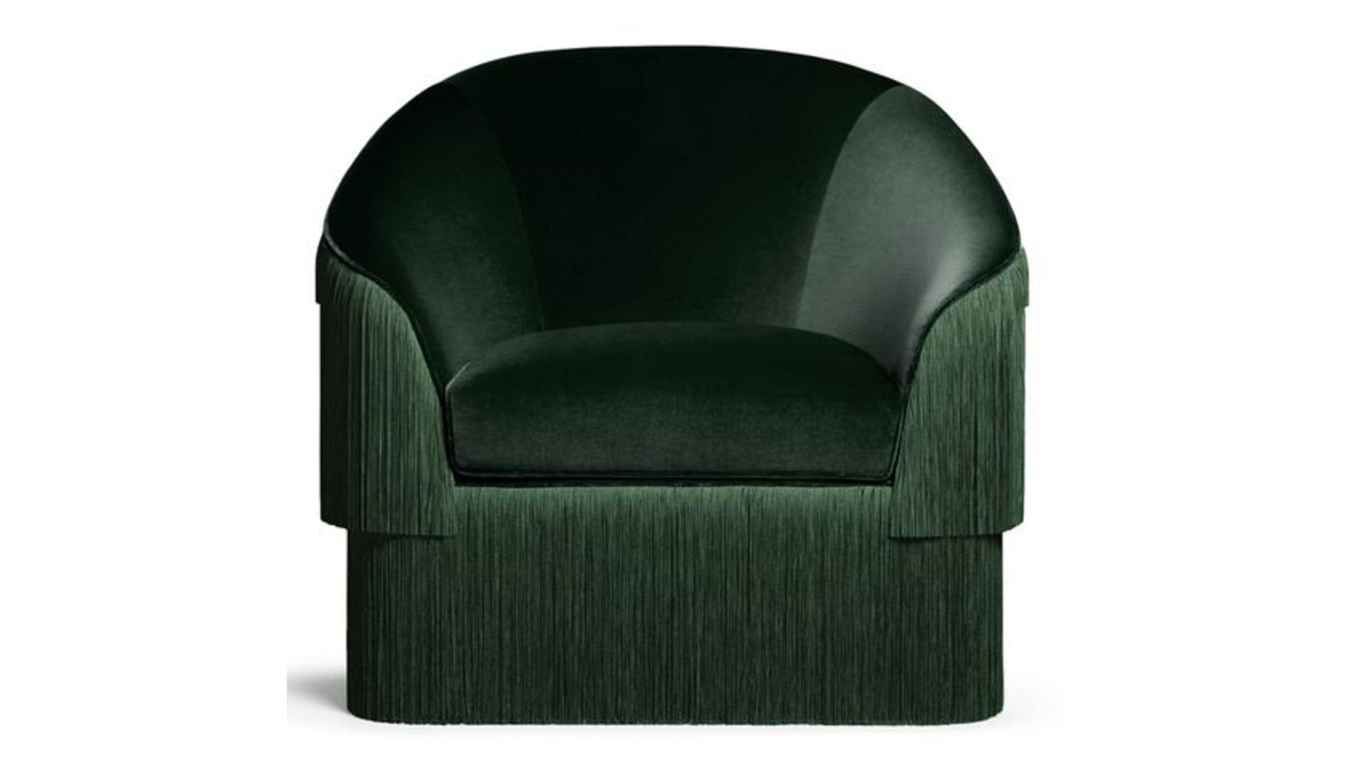 Кресло Munna Зеленое