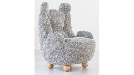 Кресло BABY BEAR 2 Серое