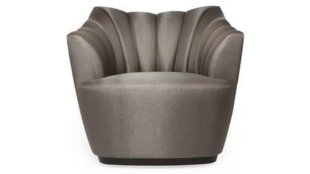 Кресло Sloan Серое