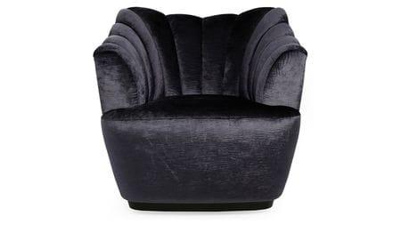 Кресло Sloan Черное