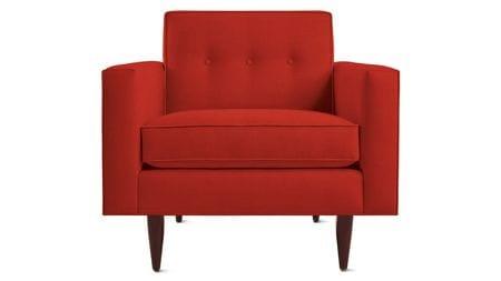 Кресло Bantam Красное
