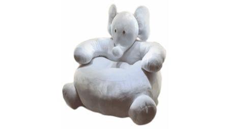 Детское мягкое кресло Слон