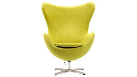 Кресло Egg Chair Оливковая Шерсть