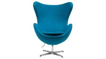 Кресло Egg Chair Dark Lazuro Cashmere