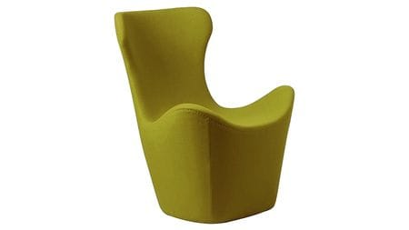 Кресло Papilio Lounge Chair Оливковое Кашемир М