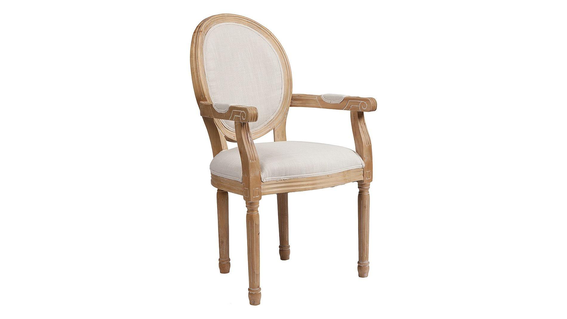 Кресло Pollina Белый Хлопок