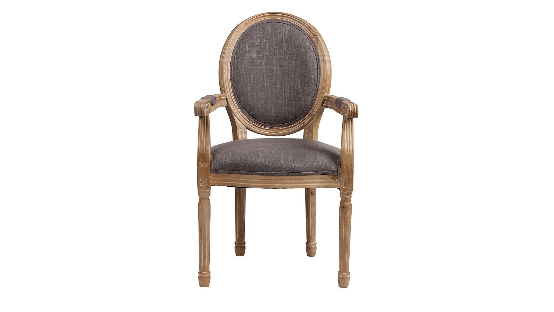 Кресло Pollina Светло-серый Хлопок