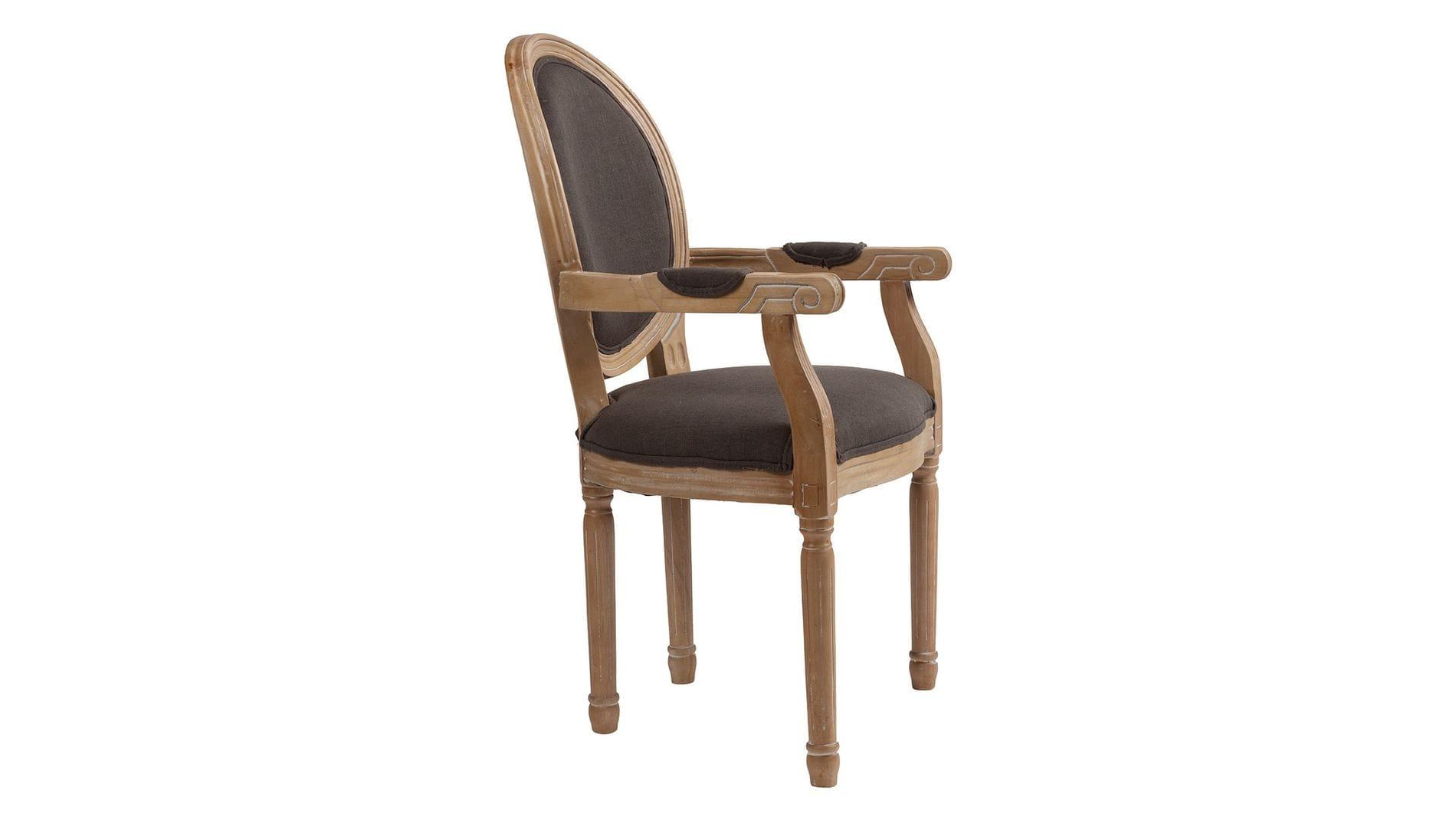 Кресло Pollina Серый Хлопок
