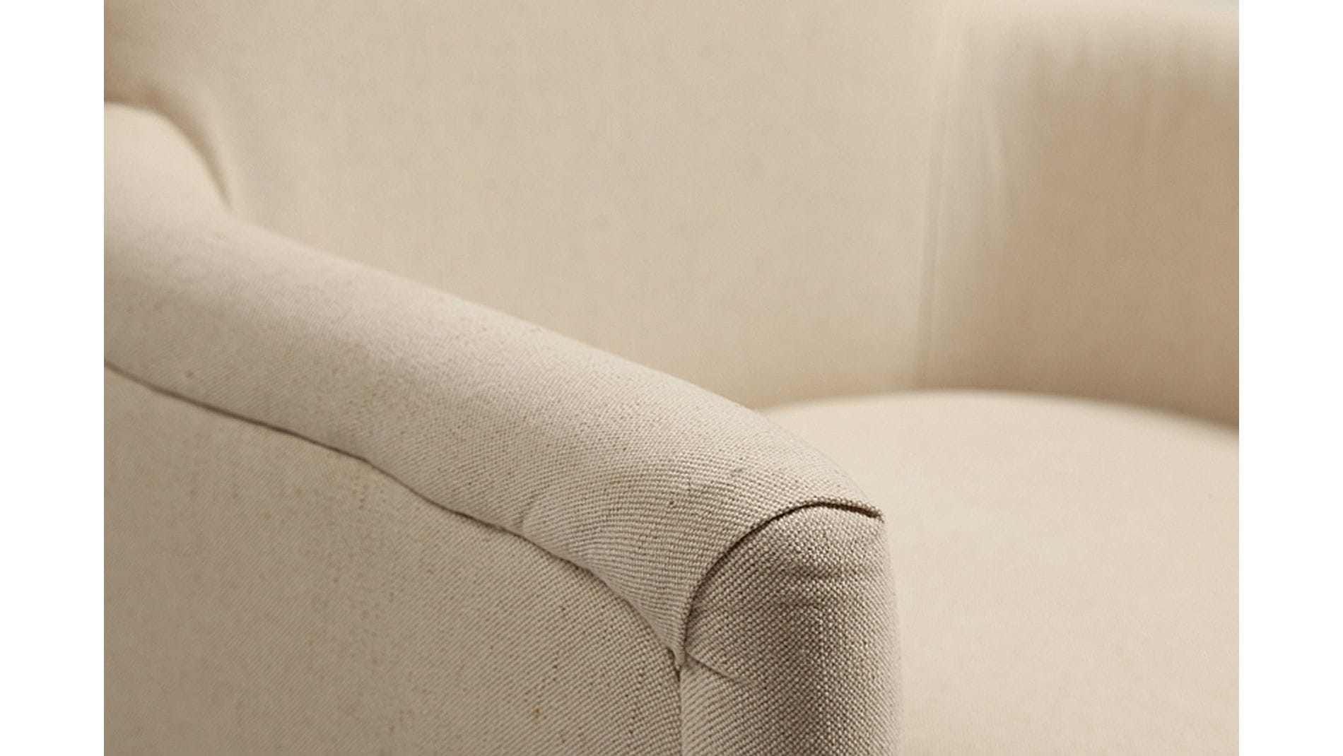 Кресло Balloon Armchair Белый Лен