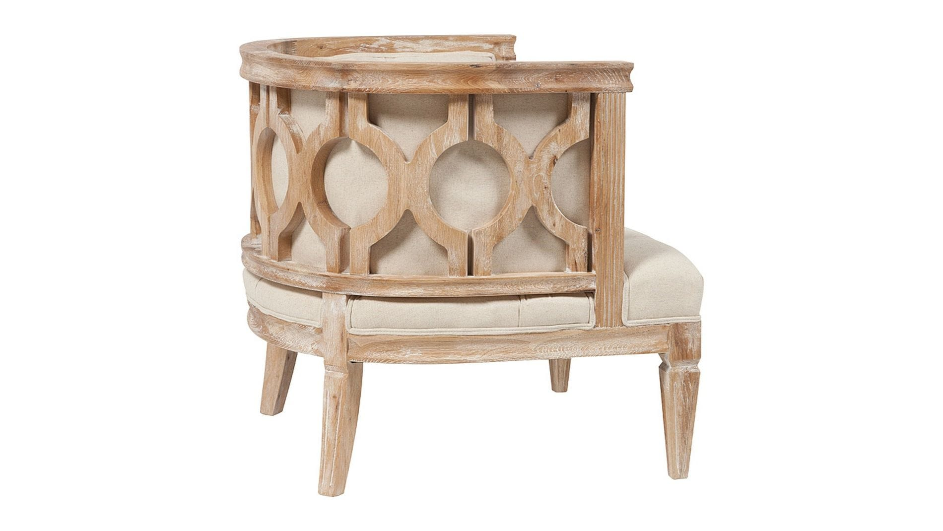 Кресло Westwood Contemporary Chair Бежевый Лен
