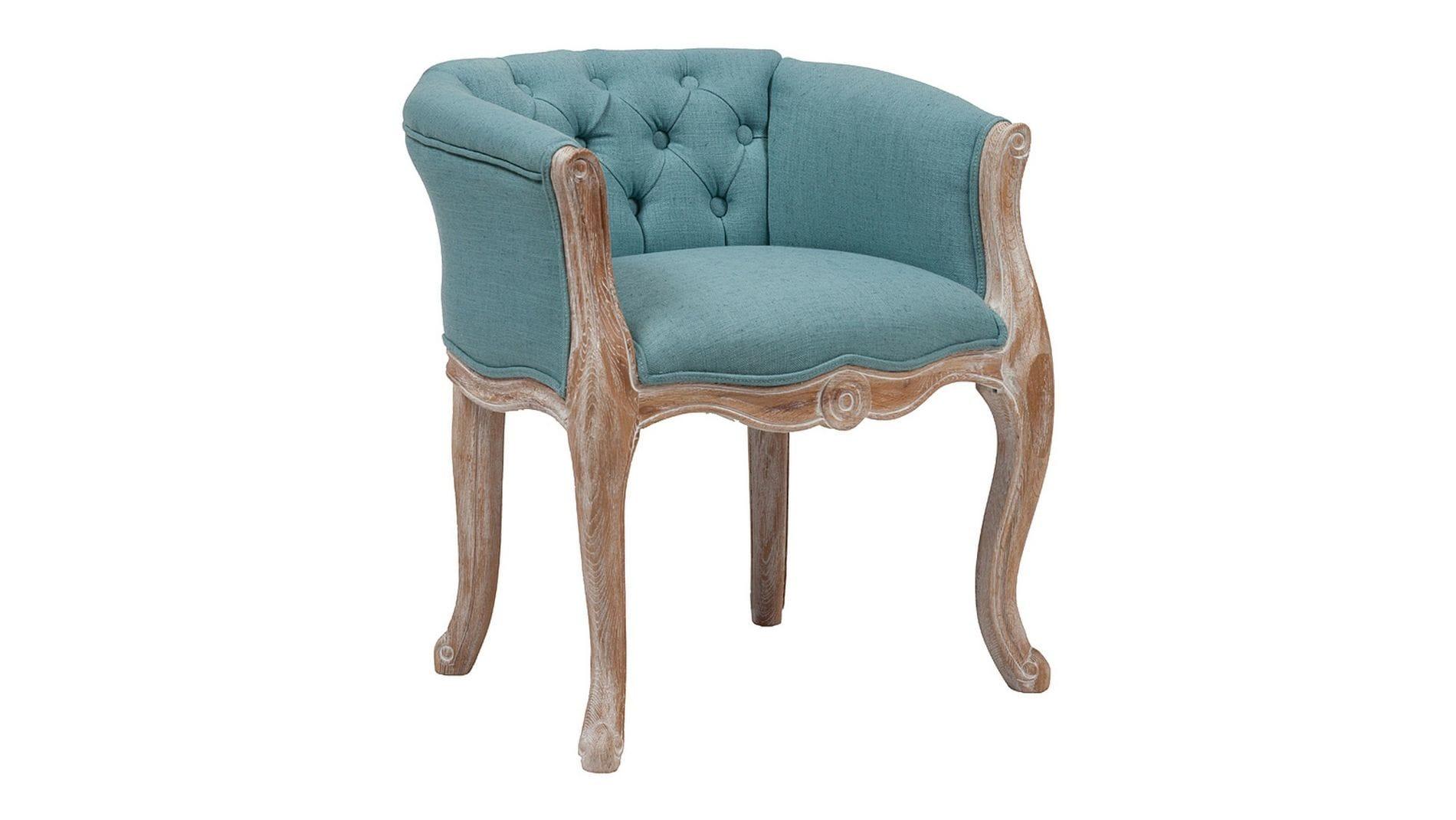 Кресло Cabriole Elizabeth Бирюзовое