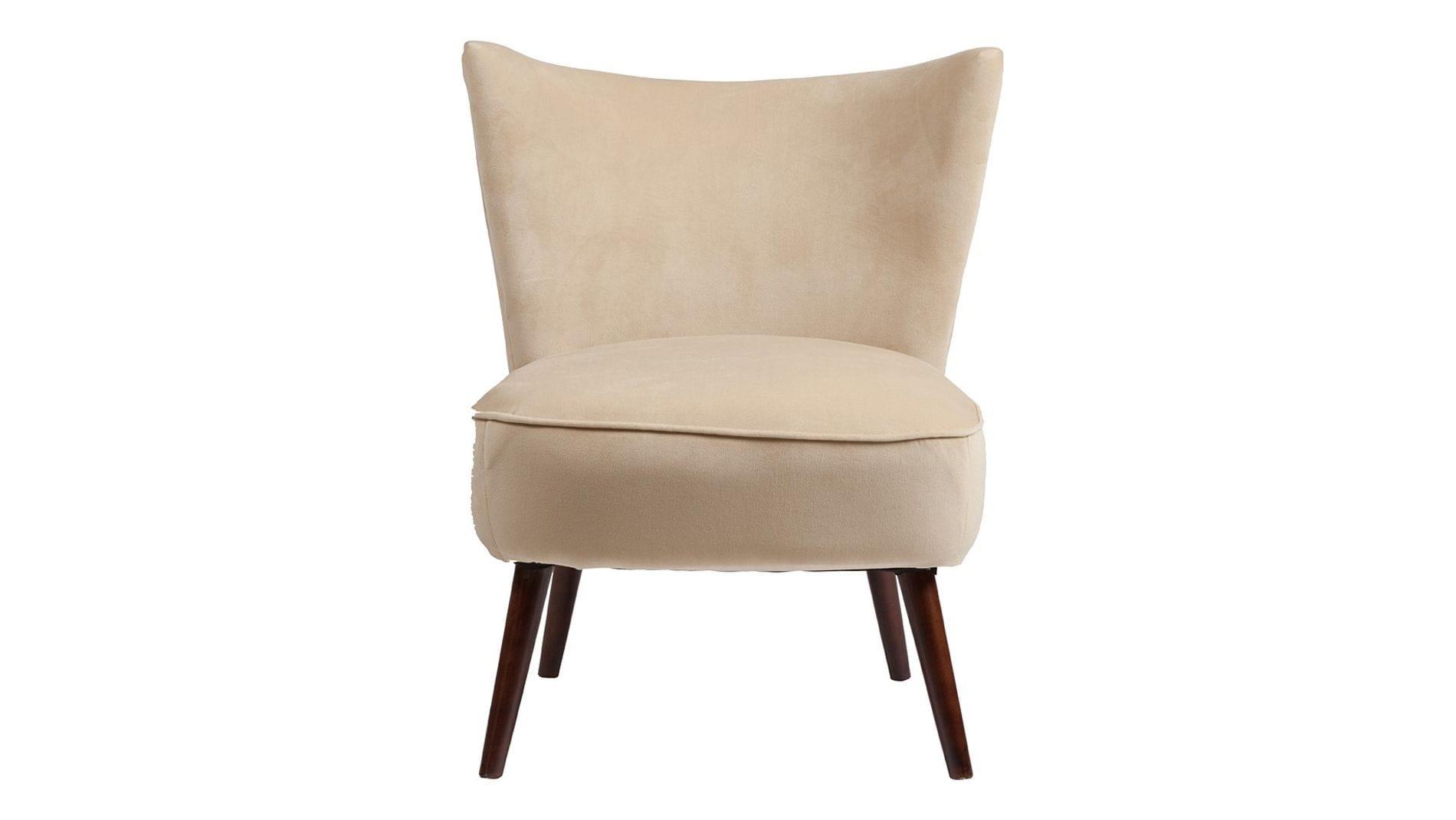Кресло Vermont Chair Бежевый Велюр Р