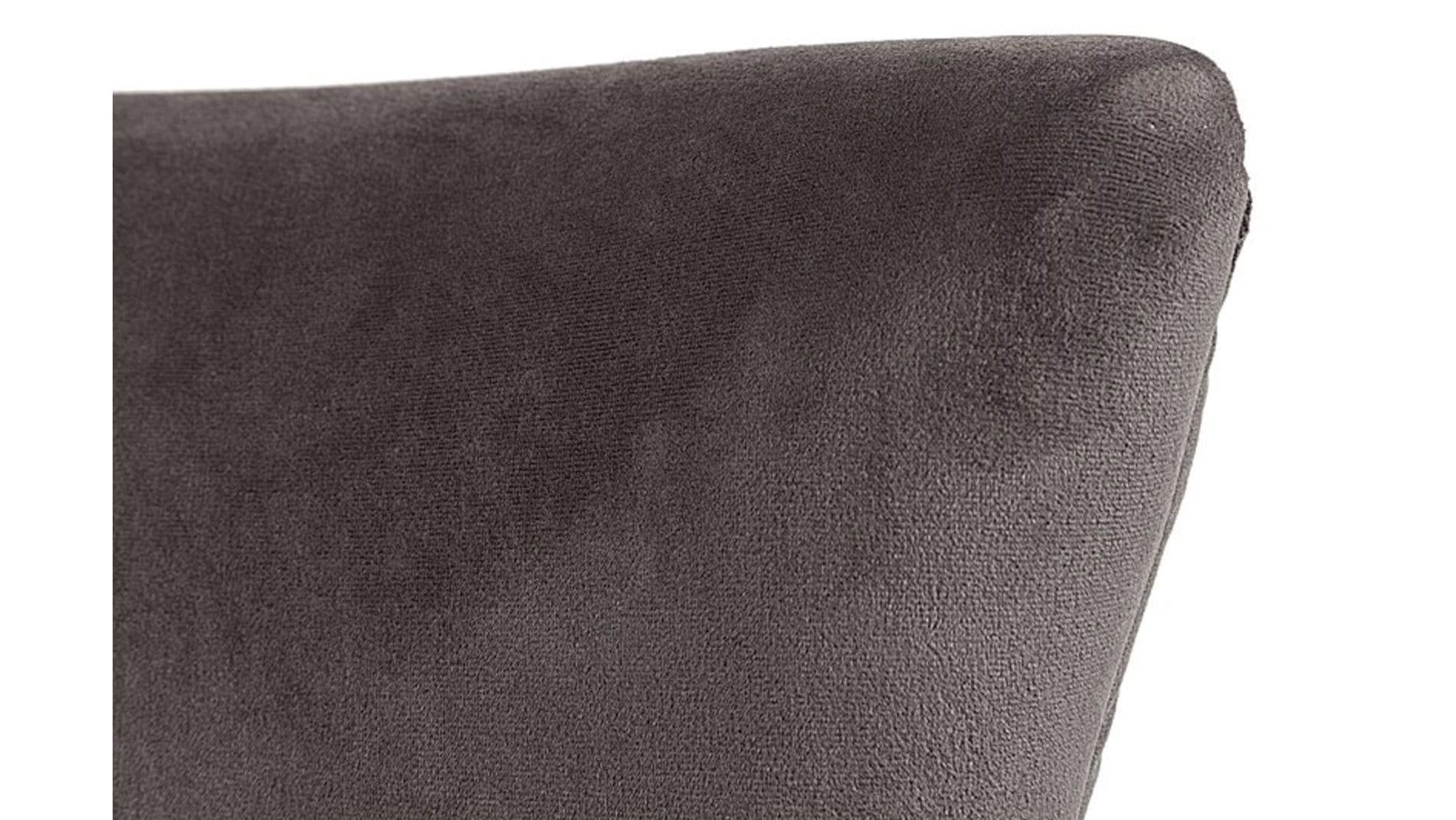 Кресло Vermont Chair Тёмно-Серый Велюр Р