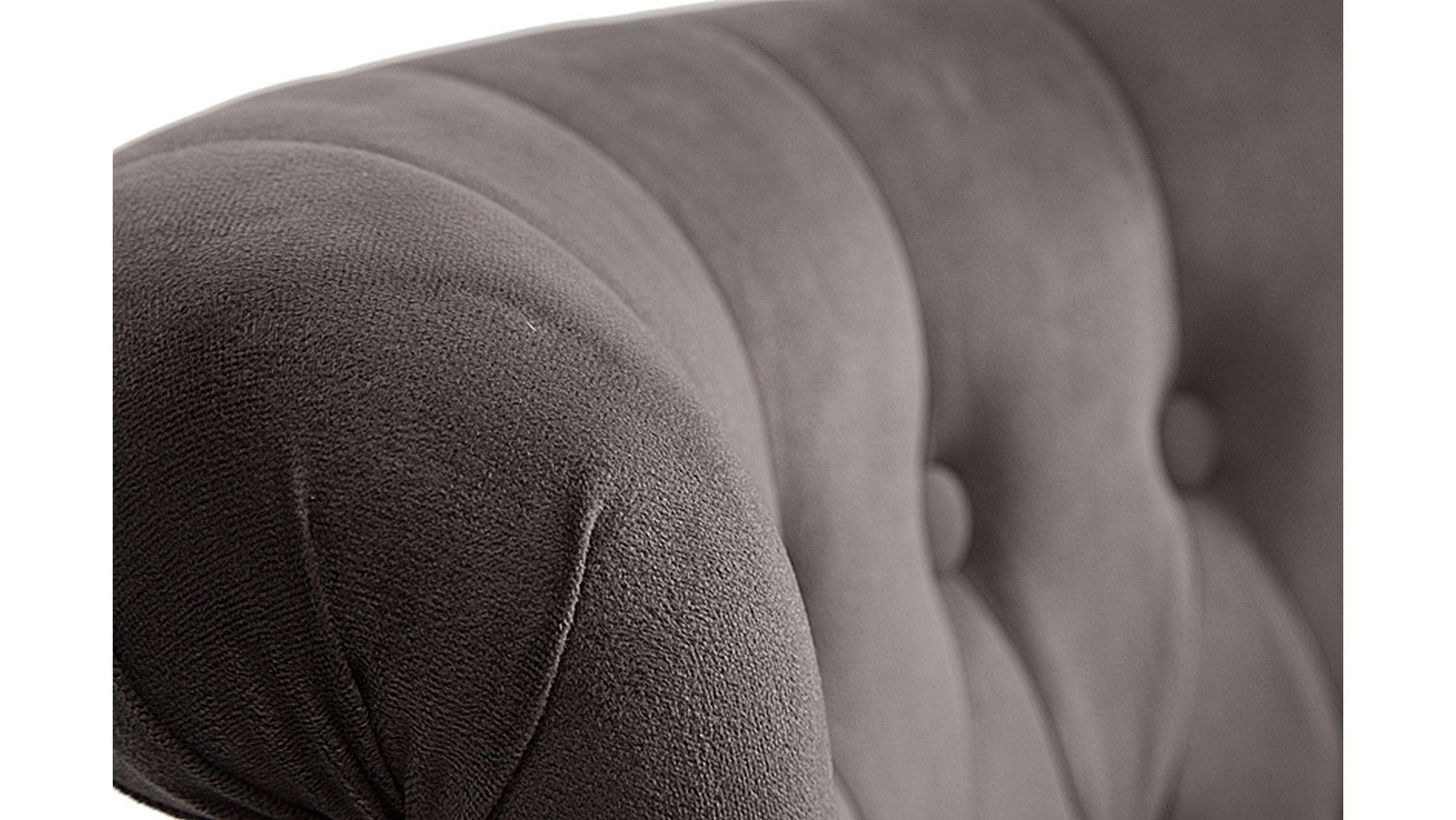 Кресло Dawson Тёмно-серый Велюр М