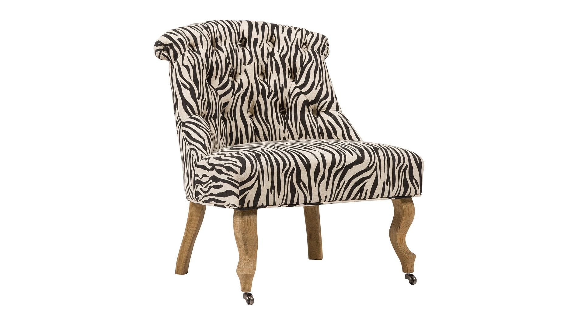 Кресло Amelie French Country Chair Зебра М