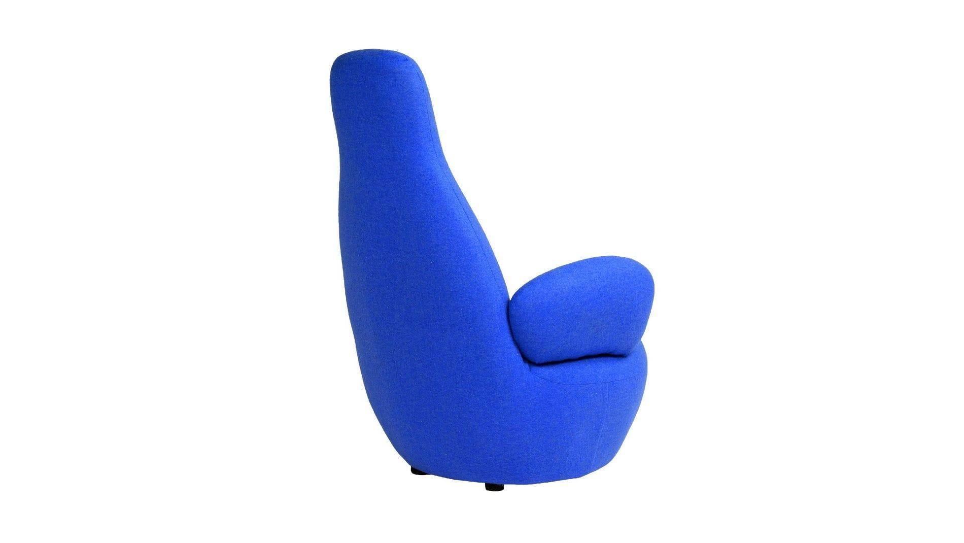 Кресло Bottle Chair Синий Кашемир Р