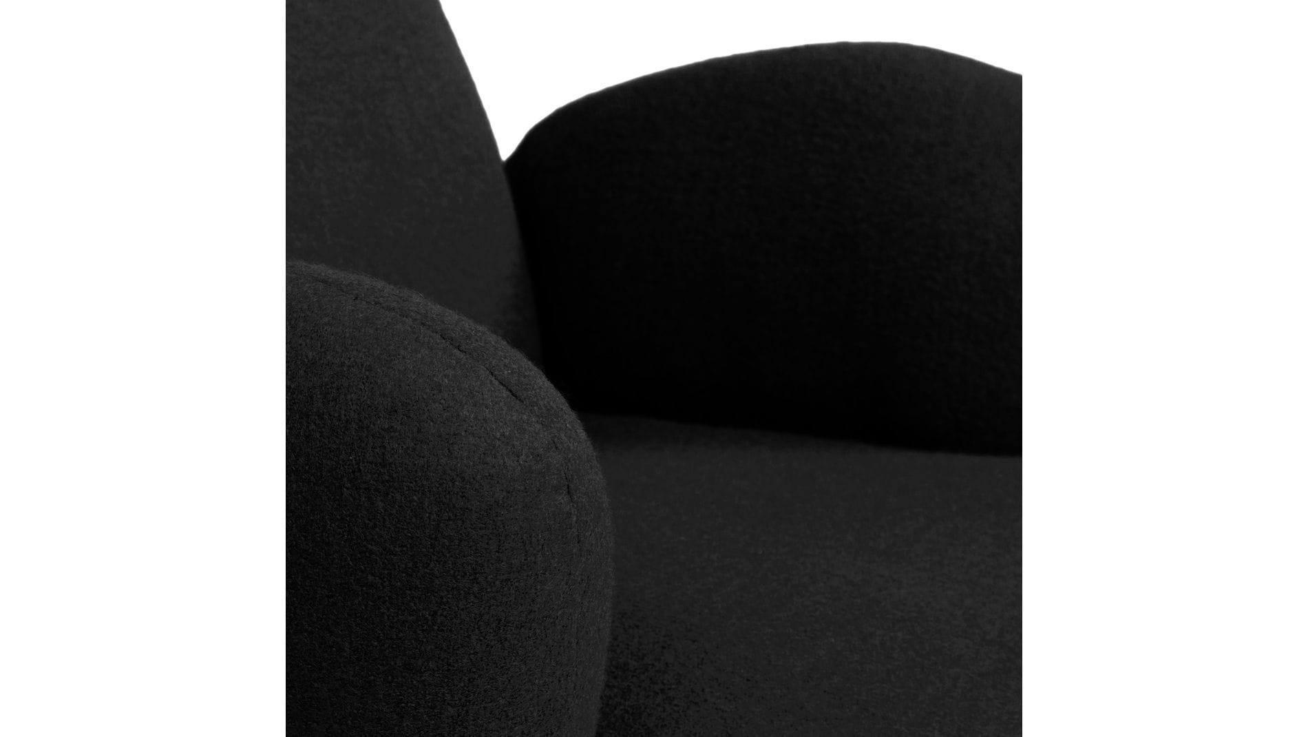 Кресло Bottle Chair Чёрный Кашемир Р