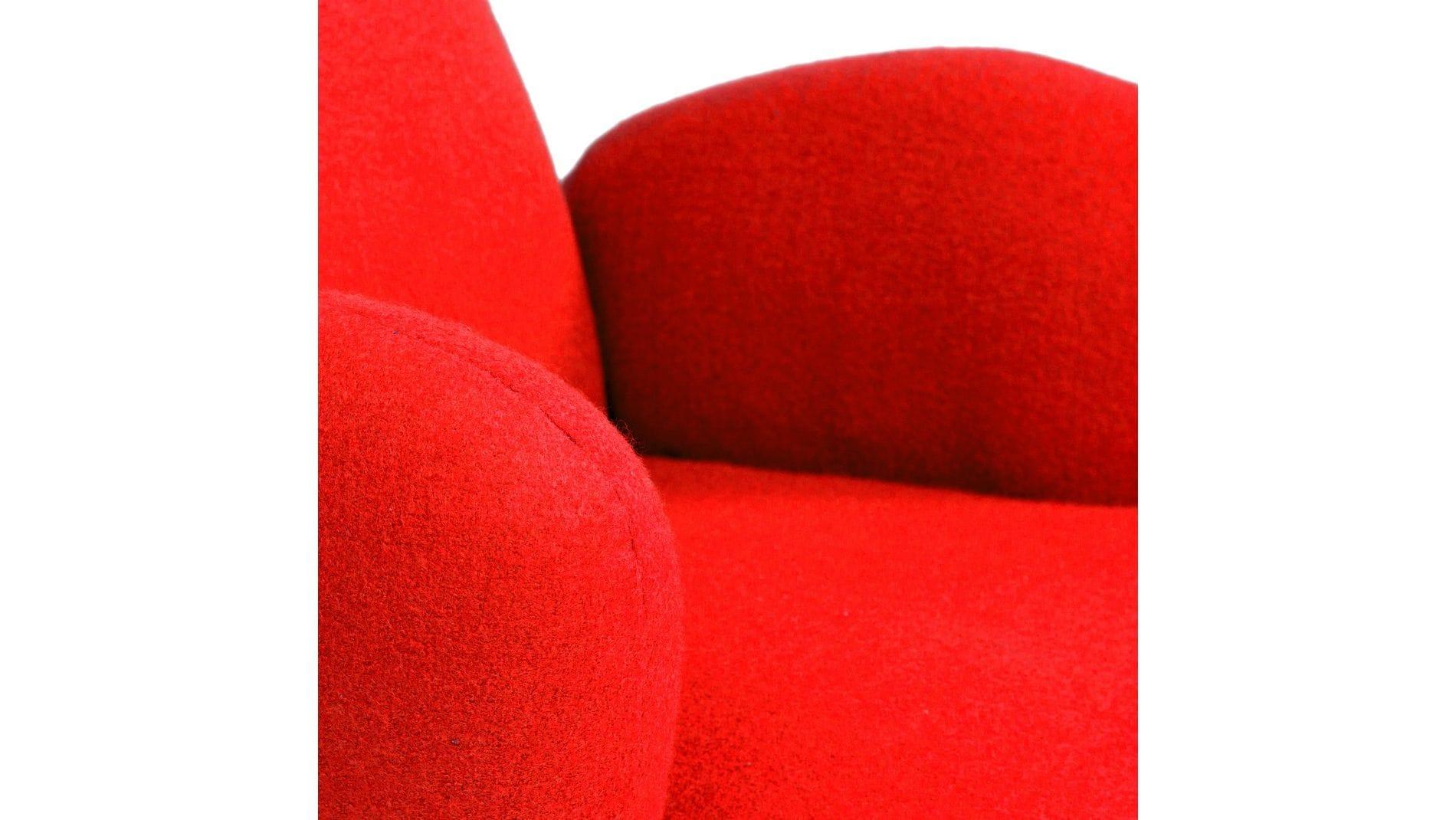 Кресло Bottle Chair Красный Кашемир Р